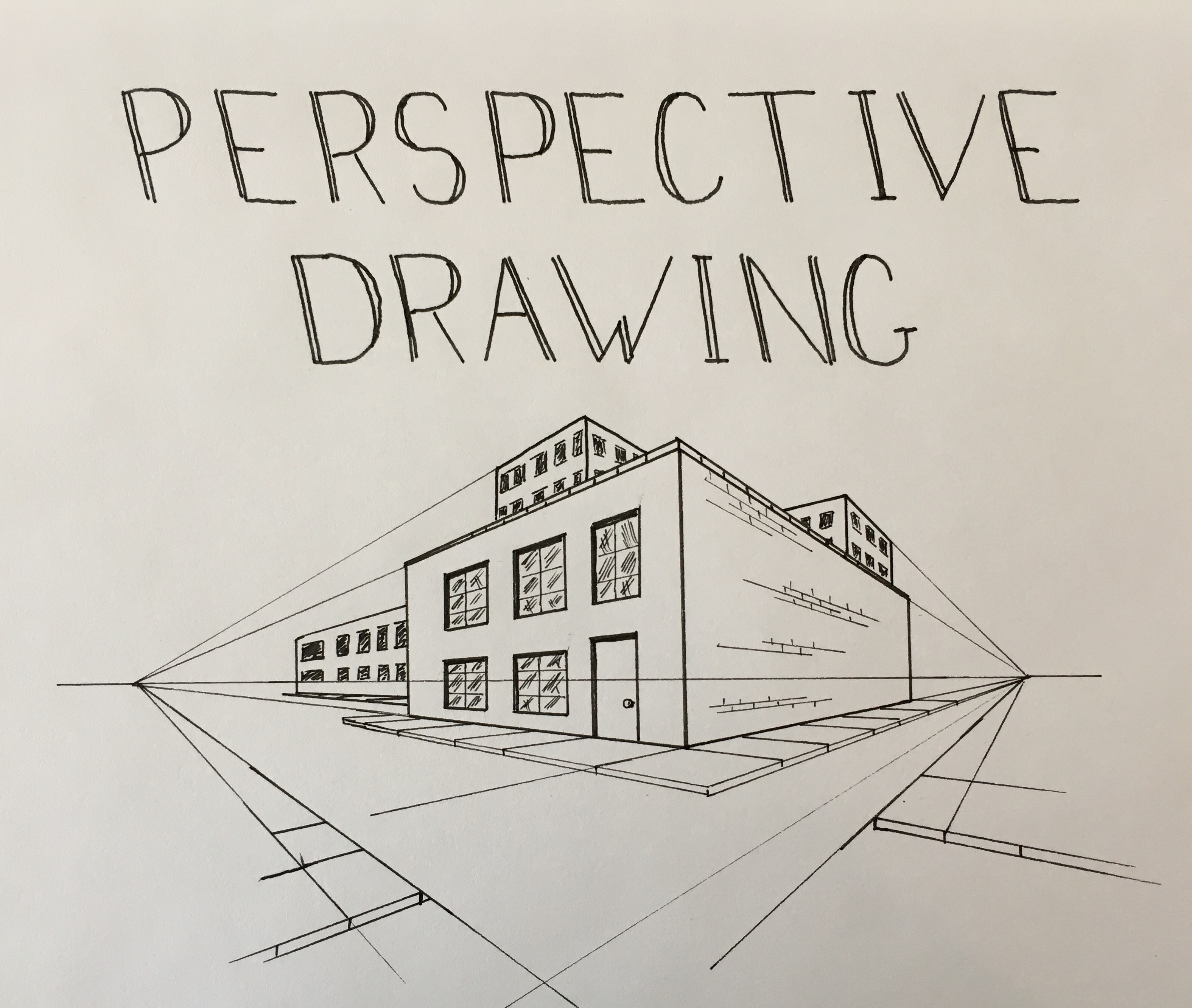 Perspective drawing made easy i fine art class